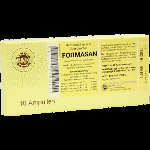Verpackungsbild(Packshot) von FORMASAN Injektion Ampullen