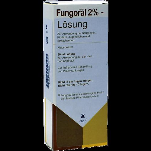 Verpackungsbild(Packshot) von FUNGORAL 2% Lösung