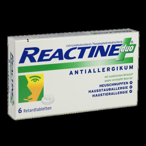 Verpackungsbild(Packshot) von REACTINE duo Retardtabletten