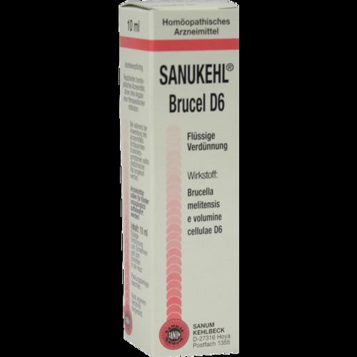 Verpackungsbild(Packshot) von SANUKEHL Brucel D 6 Tropfen