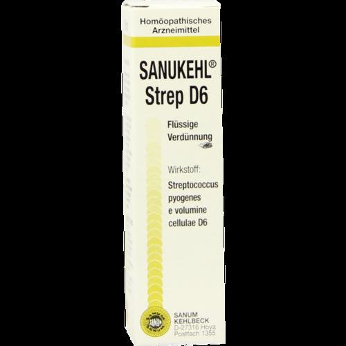 Verpackungsbild(Packshot) von SANUKEHL Strep D 6 Tropfen