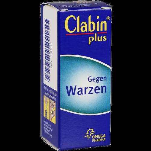 Verpackungsbild(Packshot) von CLABIN plus Lösung