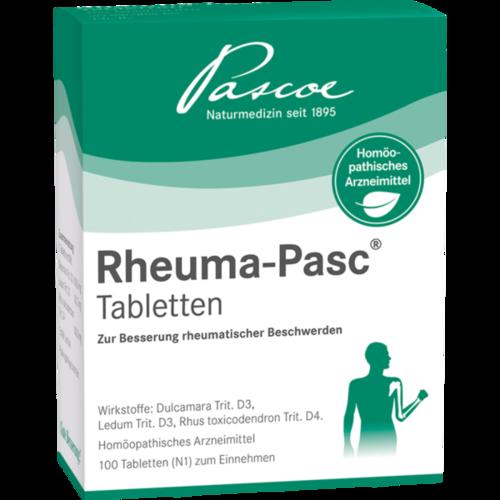 Verpackungsbild(Packshot) von RHEUMA PASC Tabletten