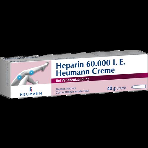 Verpackungsbild(Packshot) von HEPARIN 60.000 Heumann Creme