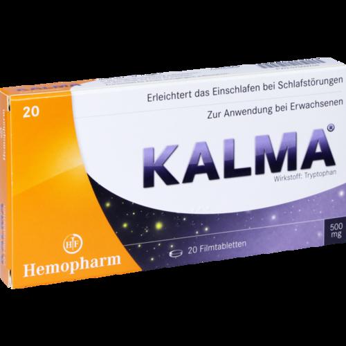 Verpackungsbild(Packshot) von KALMA Filmtabletten