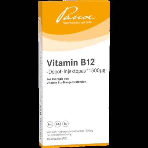 Verpackungsbild(Packshot) von VITAMIN B12 DEPOT Inj. 1500 μg Injektionslösung