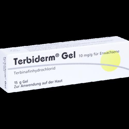 Verpackungsbild(Packshot) von TERBIDERM Gel