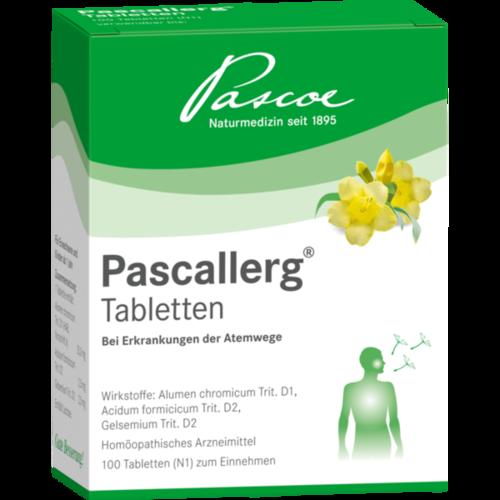 Verpackungsbild(Packshot) von PASCALLERG Tabletten