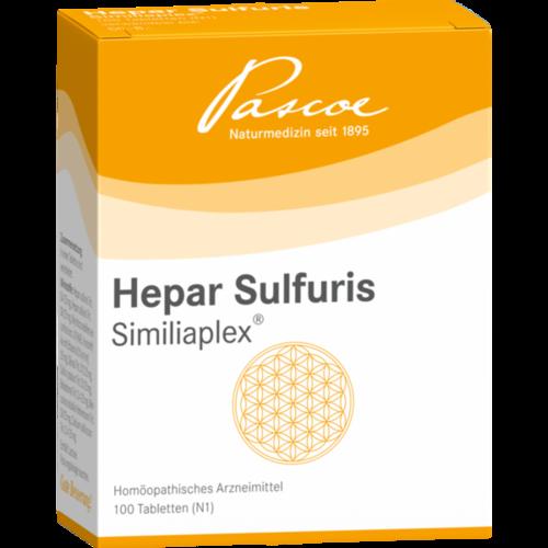 Verpackungsbild(Packshot) von HEPAR SULFURIS SIMILIAPLEX Tabletten