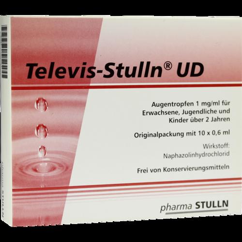 Verpackungsbild(Packshot) von TELEVIS Stulln UD Augentropfen