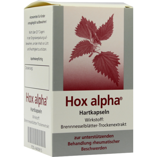 Verpackungsbild(Packshot) von HOX alpha Hartkapseln