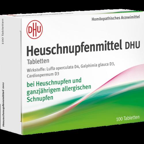 Verpackungsbild(Packshot) von HEUSCHNUPFENMITTEL DHU Tabletten