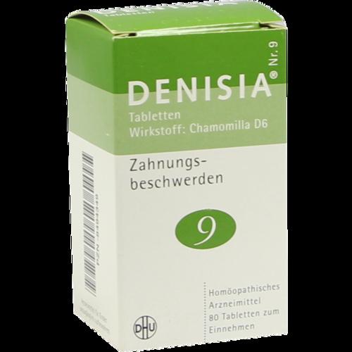 Verpackungsbild(Packshot) von DENISIA 9 Zahnungsbeschwerden Tabletten