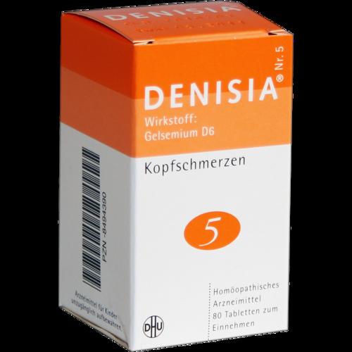 Verpackungsbild(Packshot) von DENISIA 5 Kopfschmerzen Tabletten