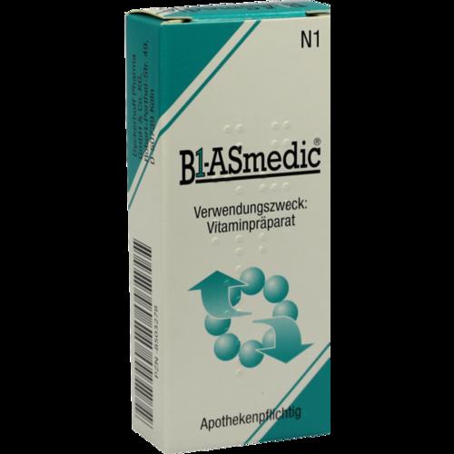 Verpackungsbild(Packshot) von B1 ASMEDIC Tabletten