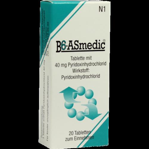 Verpackungsbild(Packshot) von B6 ASMEDIC Tabletten