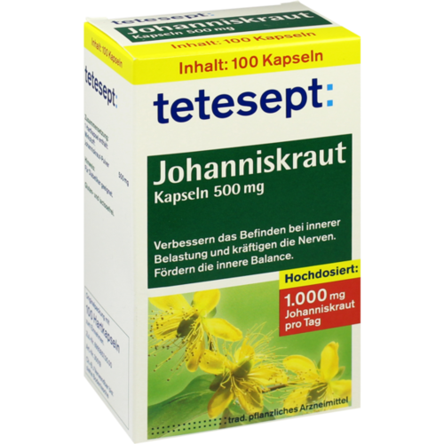 Verpackungsbild(Packshot) von TETESEPT Johanniskraut-Kapseln