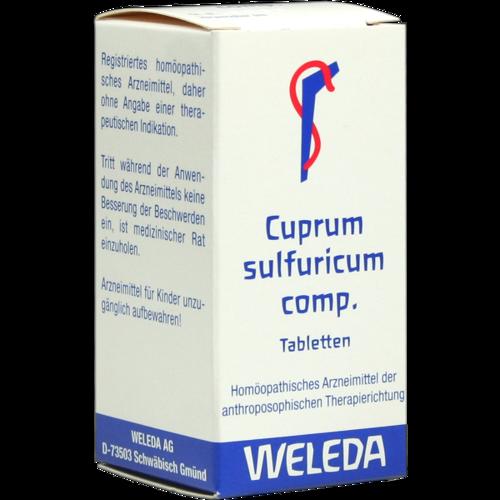 Verpackungsbild(Packshot) von CUPRUM SULFURICUM comp.Tabletten
