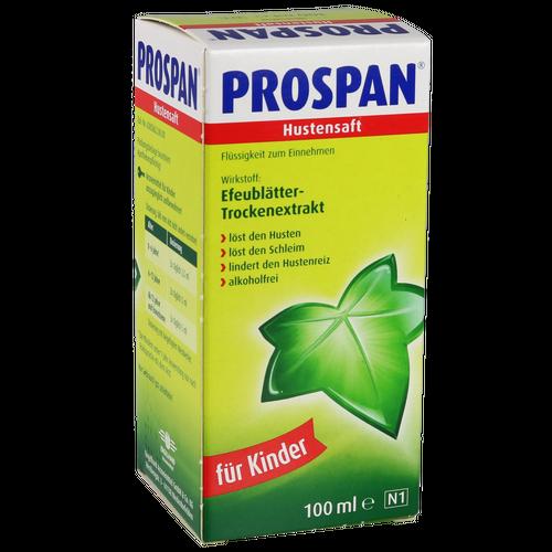 Verpackungsbild(Packshot) von PROSPAN Hustensaft