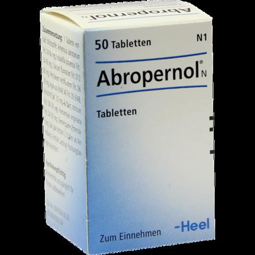 Verpackungsbild(Packshot) von ABROPERNOL N Tabletten