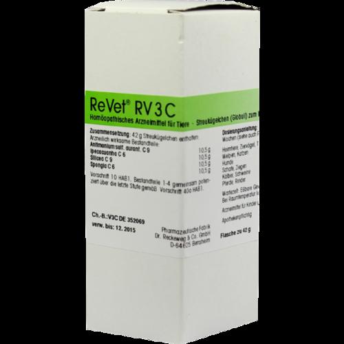 Verpackungsbild(Packshot) von REVET RV 3C Globuli vet.