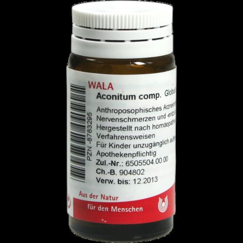 Verpackungsbild(Packshot) von ACONITUM COMP.Globuli