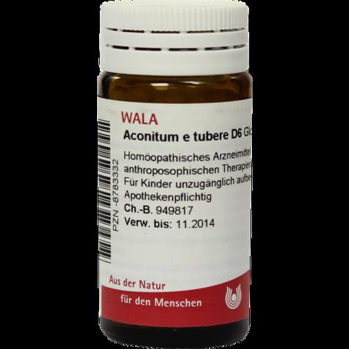 Verpackungsbild(Packshot) von ACONITUM E tubere D 6 Globuli