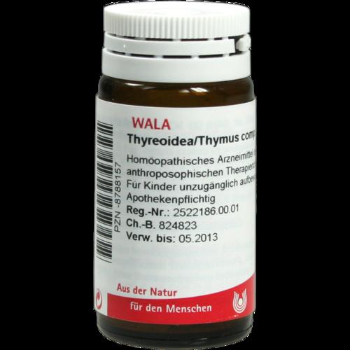 Verpackungsbild(Packshot) von THYREOIDEA/Thymus comp.Globuli