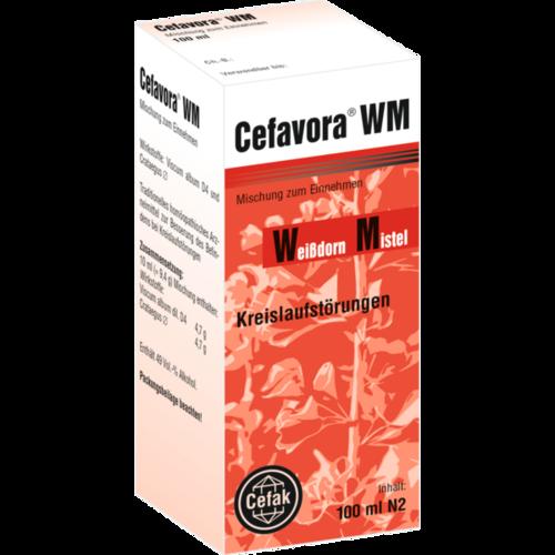 Verpackungsbild(Packshot) von CEFAVORA WM Tropfen