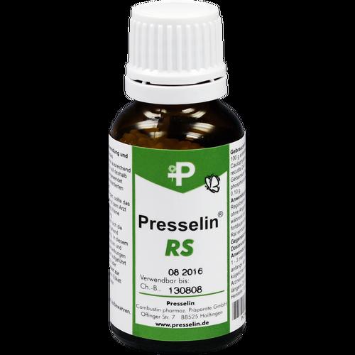 Verpackungsbild(Packshot) von PRESSELIN RS Globuli