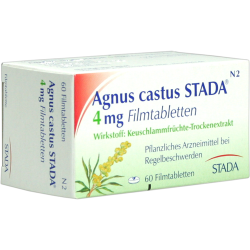 Verpackungsbild(Packshot) von AGNUS CASTUS STADA Filmtabletten