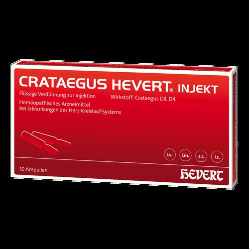 Verpackungsbild(Packshot) von CRATAEGUS HEVERT injekt Ampullen
