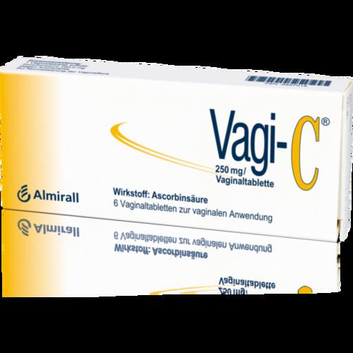 Verpackungsbild(Packshot) von VAGI C Vaginaltabletten