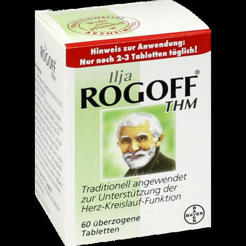 Verpackungsbild(Packshot) von ILJA ROGOFF THM überzogene Tabletten