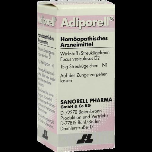 Verpackungsbild(Packshot) von ADIPORELL D 2 Globuli