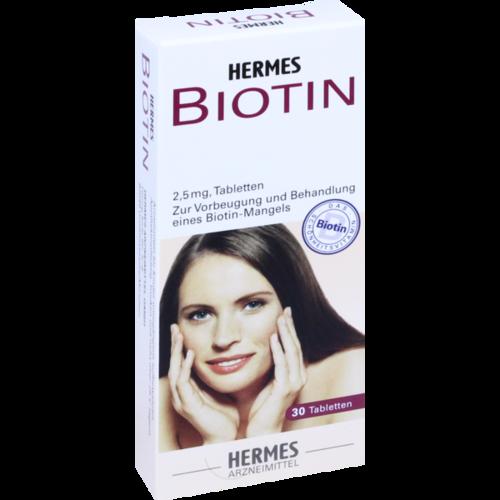 Verpackungsbild(Packshot) von BIOTIN HERMES 2,5 mg Tabletten