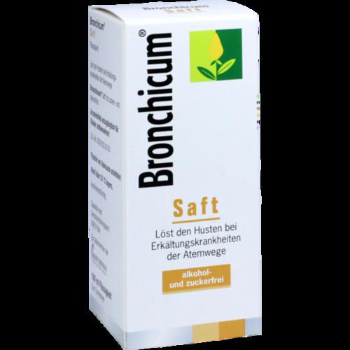 Verpackungsbild(Packshot) von BRONCHICUM Saft
