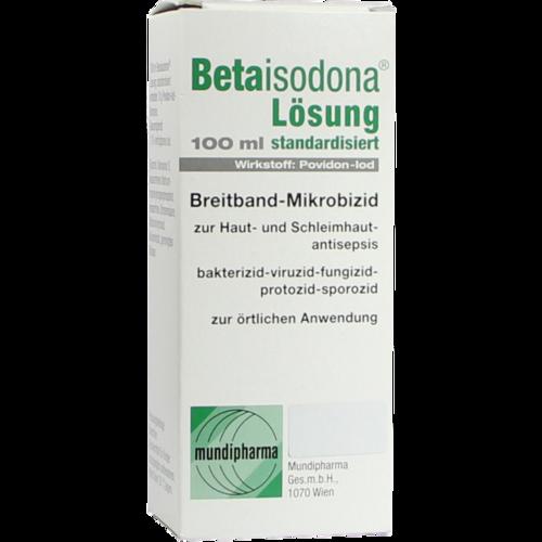 Verpackungsbild(Packshot) von BETAISODONA Lösung