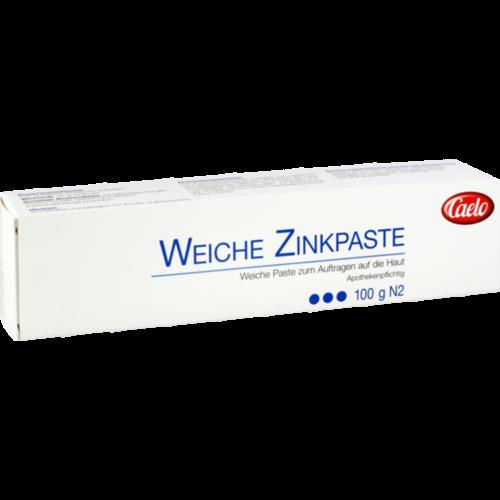Verpackungsbild(Packshot) von ZINKPASTE weich Caelo HV-Packung