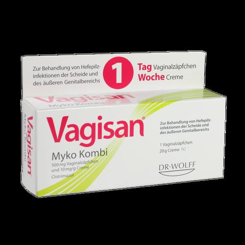 Verpackungsbild(Packshot) von VAGISAN Myko Kombi 1-Tagestherapie