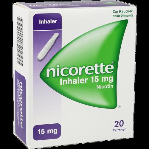Verpackungsbild(Packshot) von NICORETTE Inhaler 15 mg