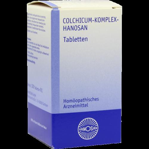 Verpackungsbild(Packshot) von COLCHICUM KOMPLEX Hanosan Tabletten
