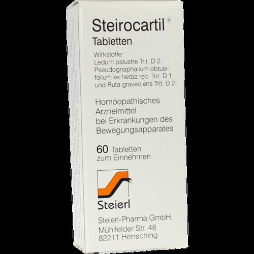 Verpackungsbild(Packshot) von STEIROCARTIL Tabletten