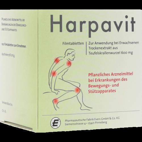 Verpackungsbild(Packshot) von HARPAVIT Filmtabletten