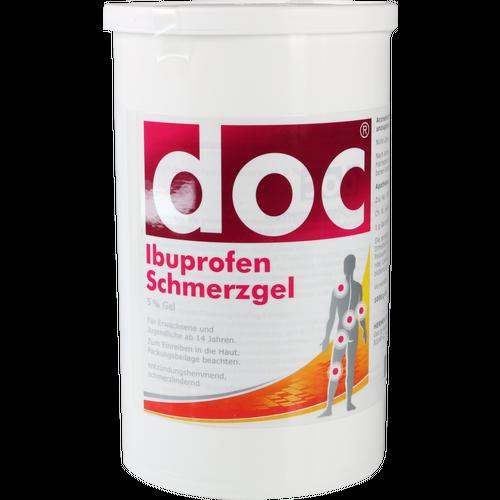 Verpackungsbild(Packshot) von DOC IBUPROFEN Schmerzgel Spenderkartusche