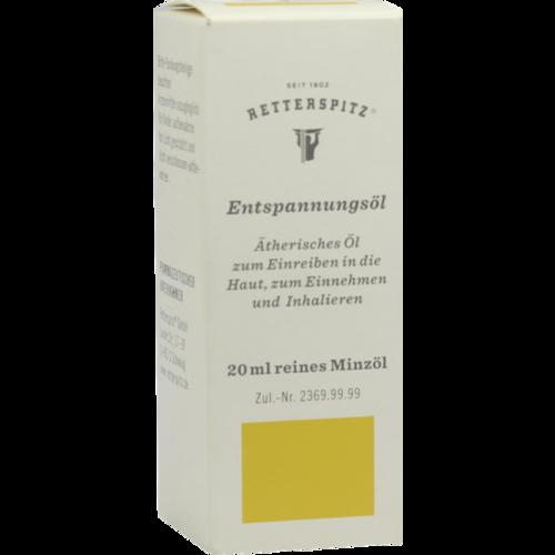Verpackungsbild(Packshot) von RETTERSPITZ Entspannungsöl