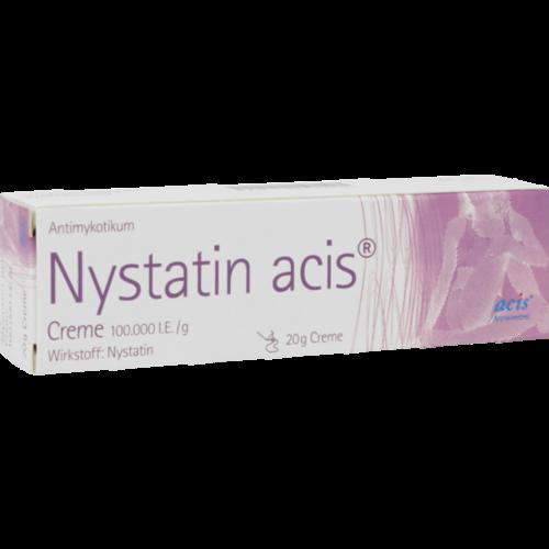 Verpackungsbild(Packshot) von NYSTATIN acis Creme