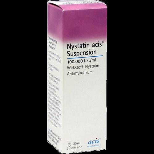 Verpackungsbild(Packshot) von NYSTATIN acis Suspension