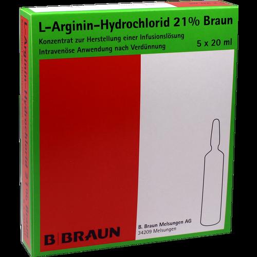 Verpackungsbild(Packshot) von L-ARGININ-HYDROCHLORID 21% Elek.-Konz.Inf.-L.