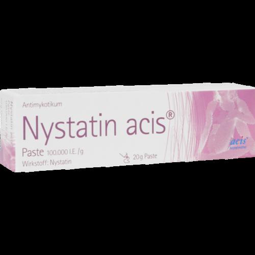 Verpackungsbild(Packshot) von NYSTATIN acis Paste